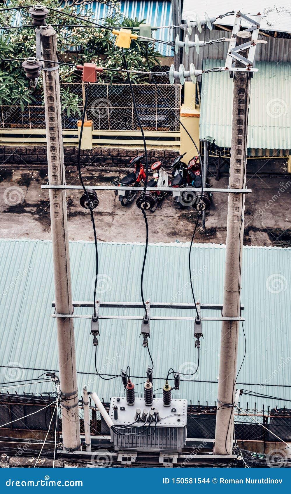 De Transformator van de kabelvermindering