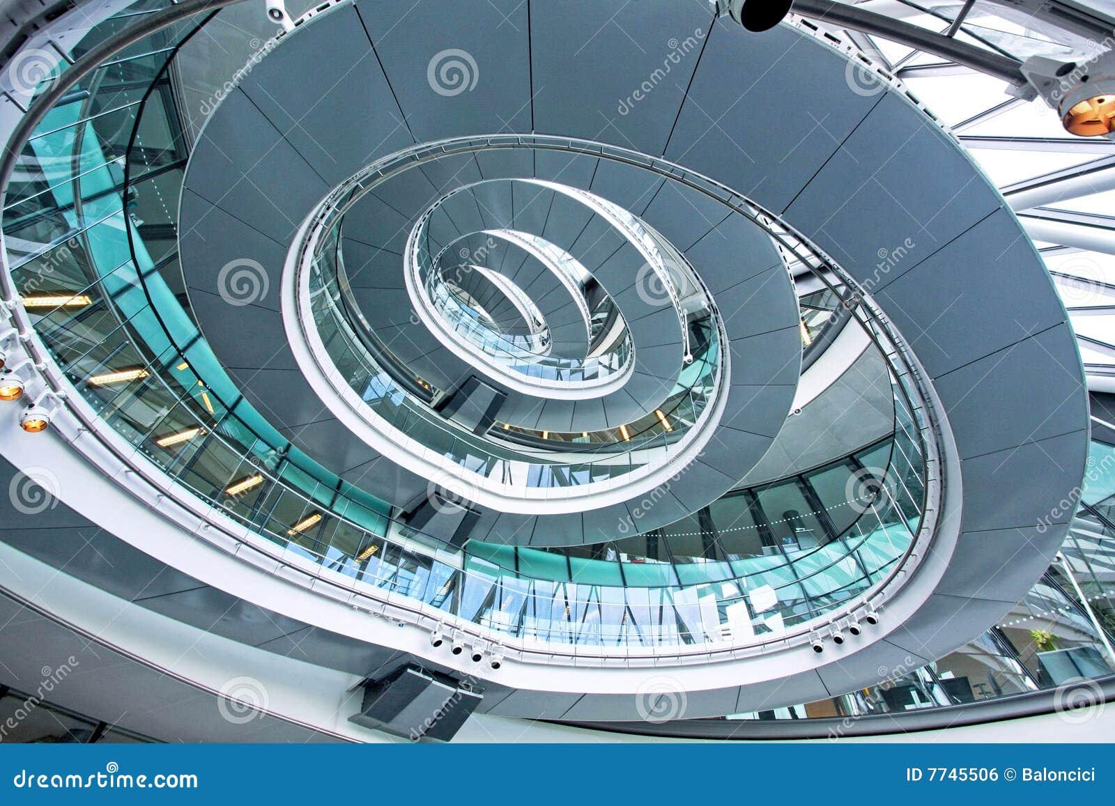 De trap van de ellips