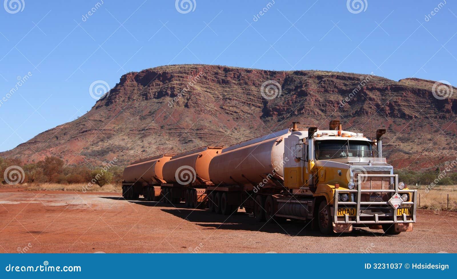 De trein van de weg