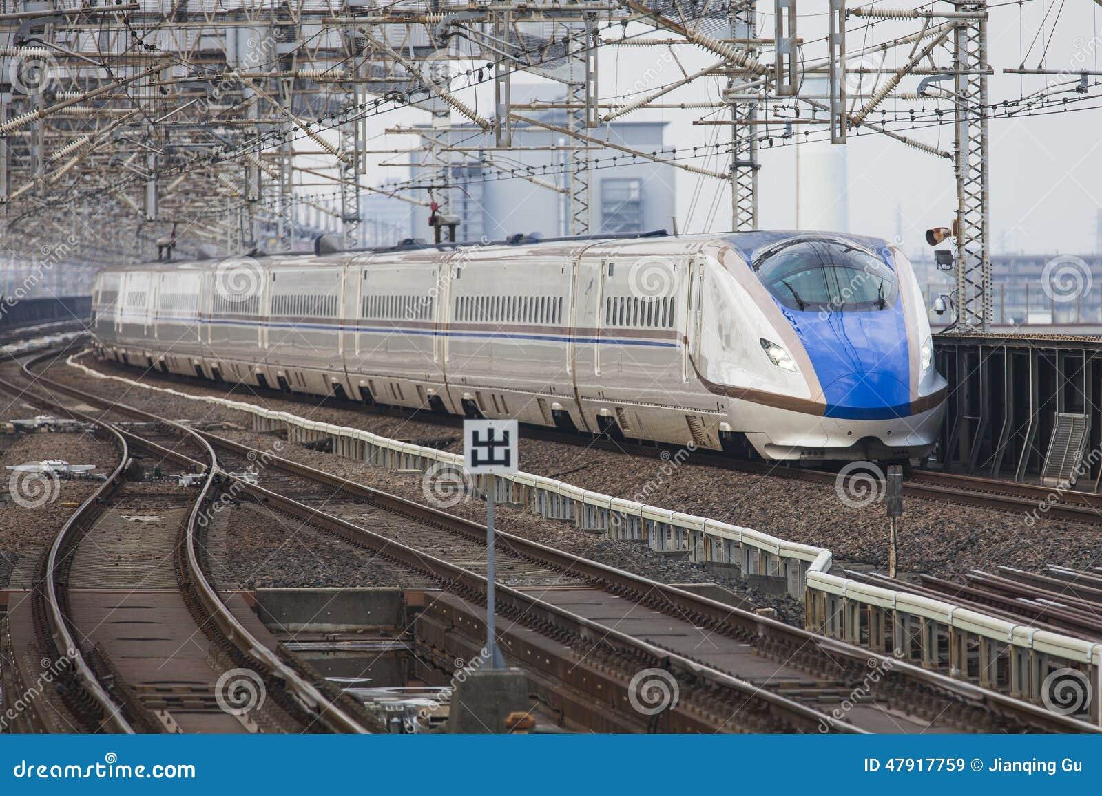 De trein van Japan