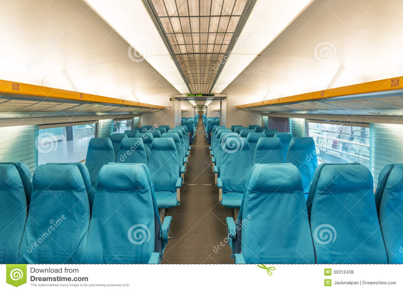 De trein van Maglev in Shanghai China