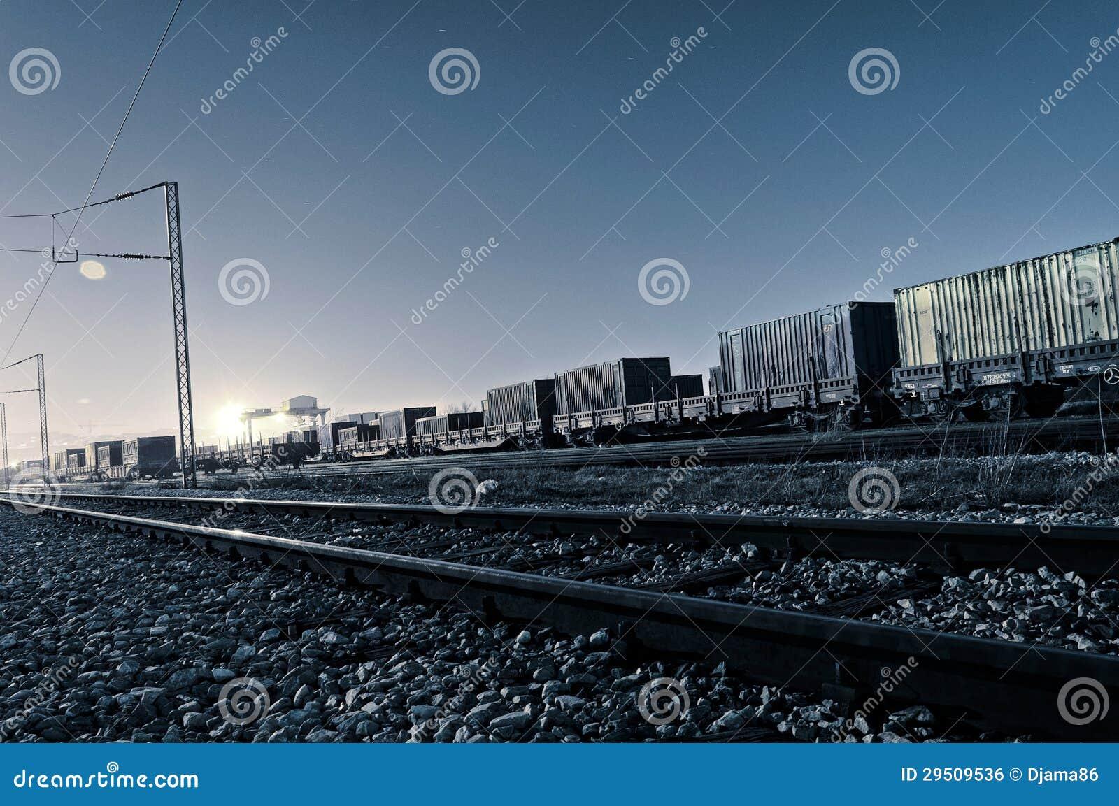 De treinen van de nacht