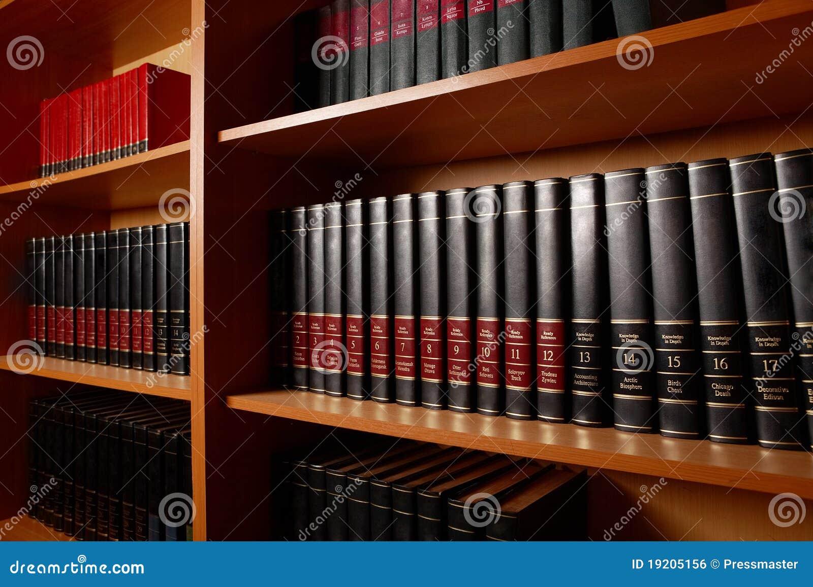 De tribune van de bibliotheek