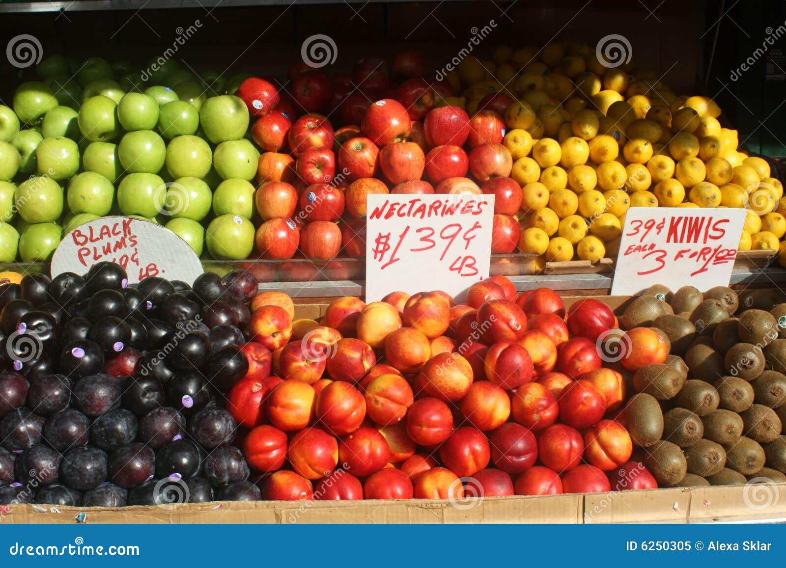 De Tribune van het fruit