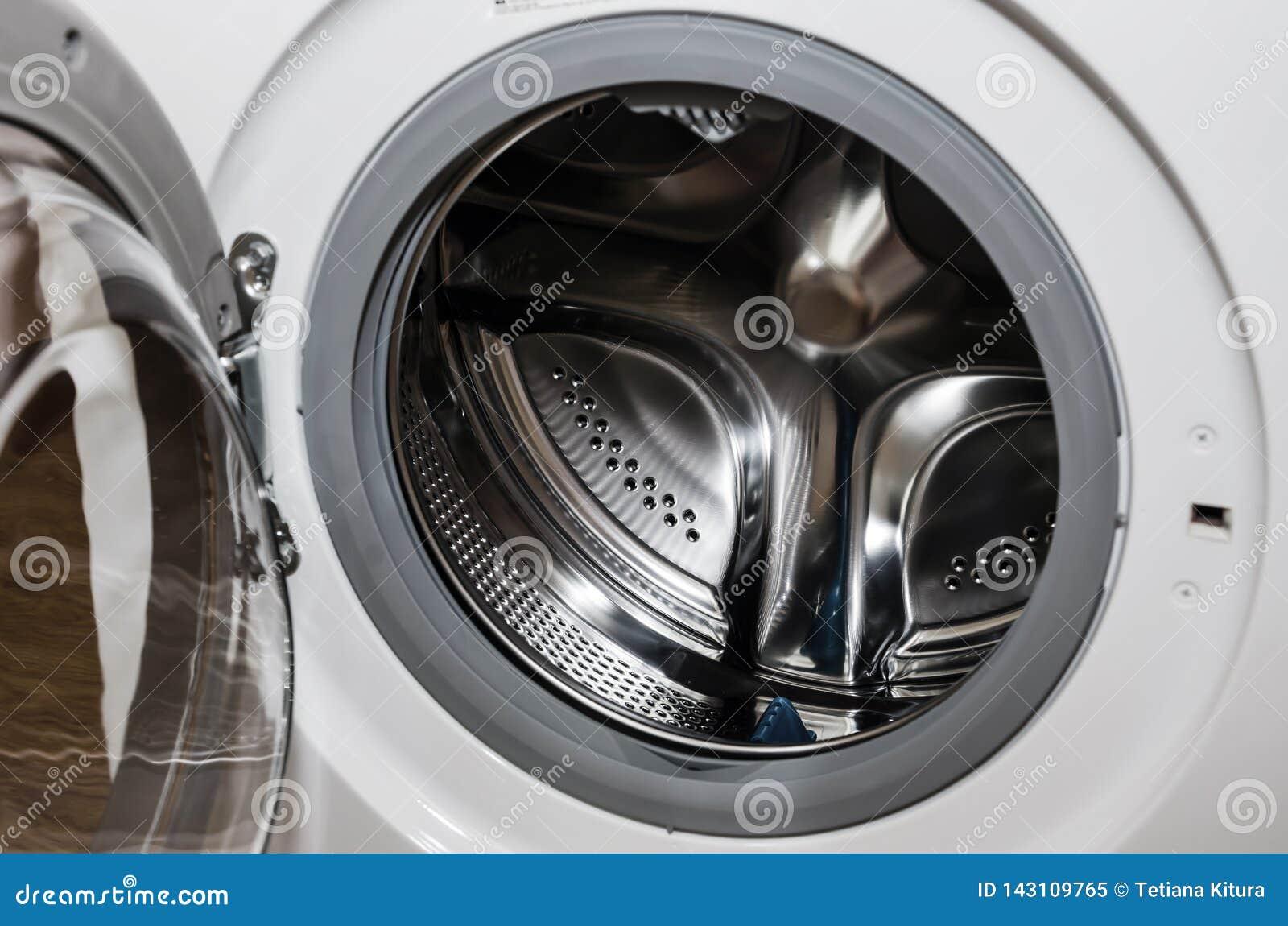 De trommel van de close-upwasmachine