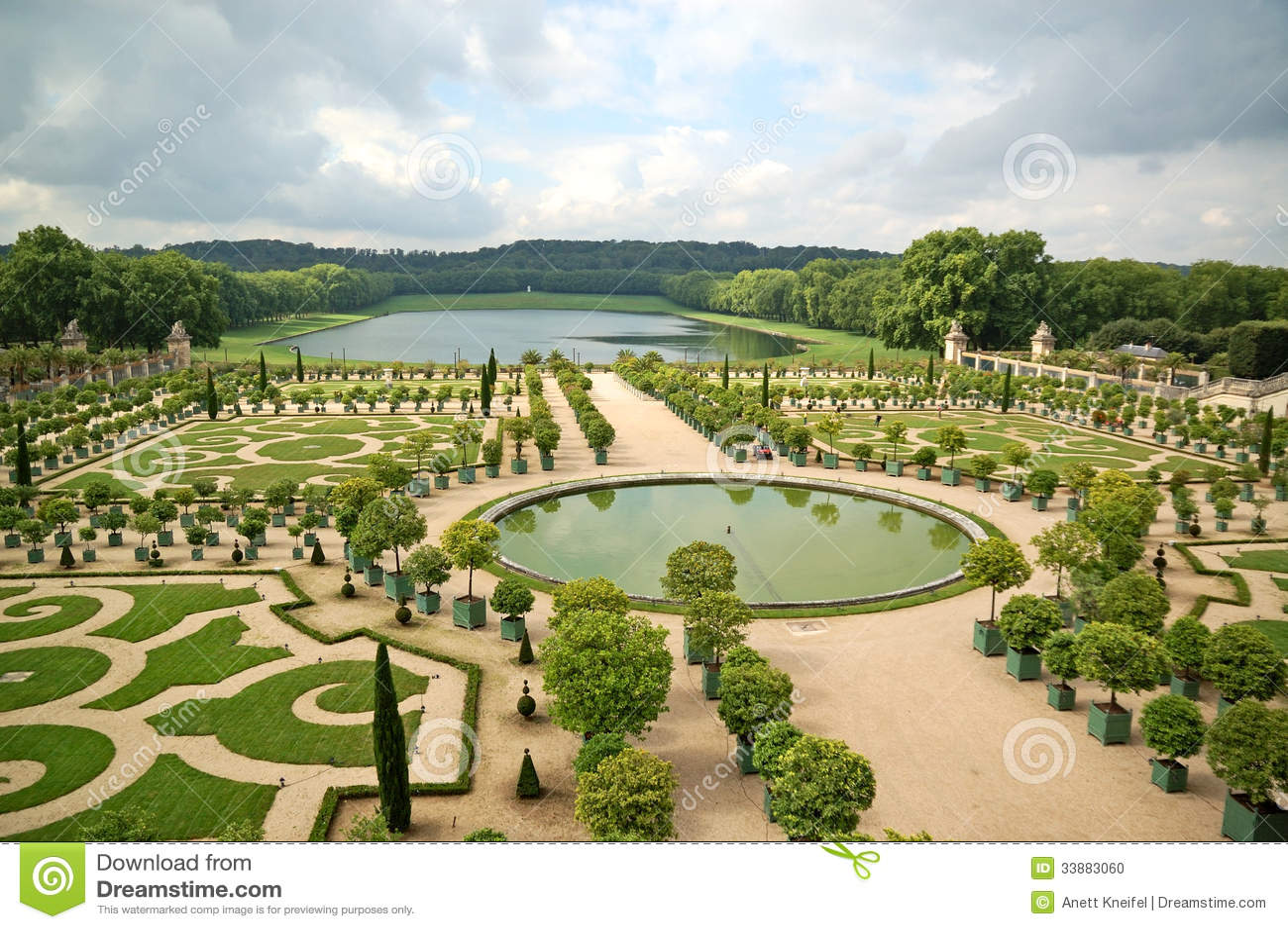 De tuin van versailles stock foto afbeelding bestaande uit ontwerp 33883060 - Tuin van de tuin ...