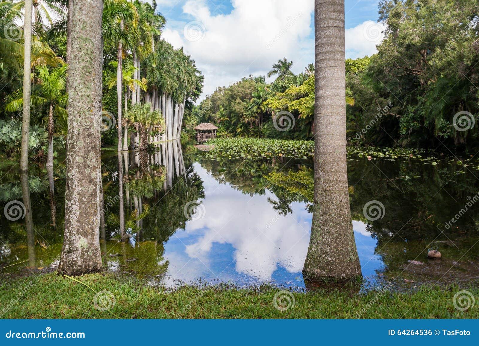 De tuinen van het bonnethuis, Voet Lauderdale, Florida