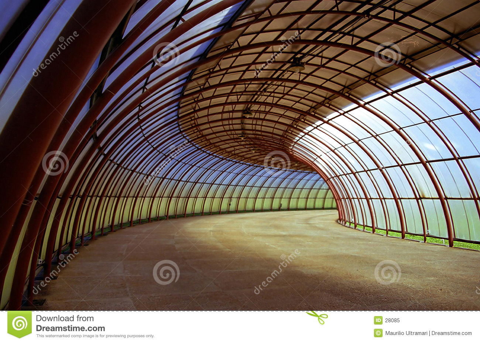 De tunnel van krommen