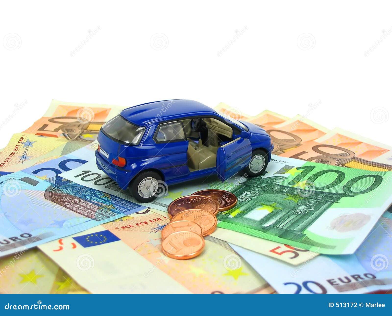 De uitgaven van de auto