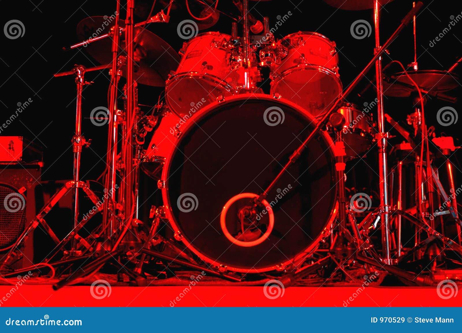 De uitrusting van de trommel