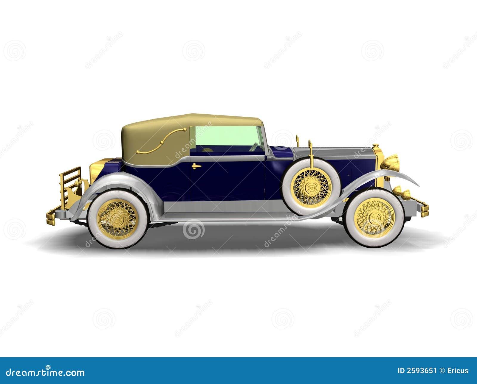 De Uitstekende auto van de luxe
