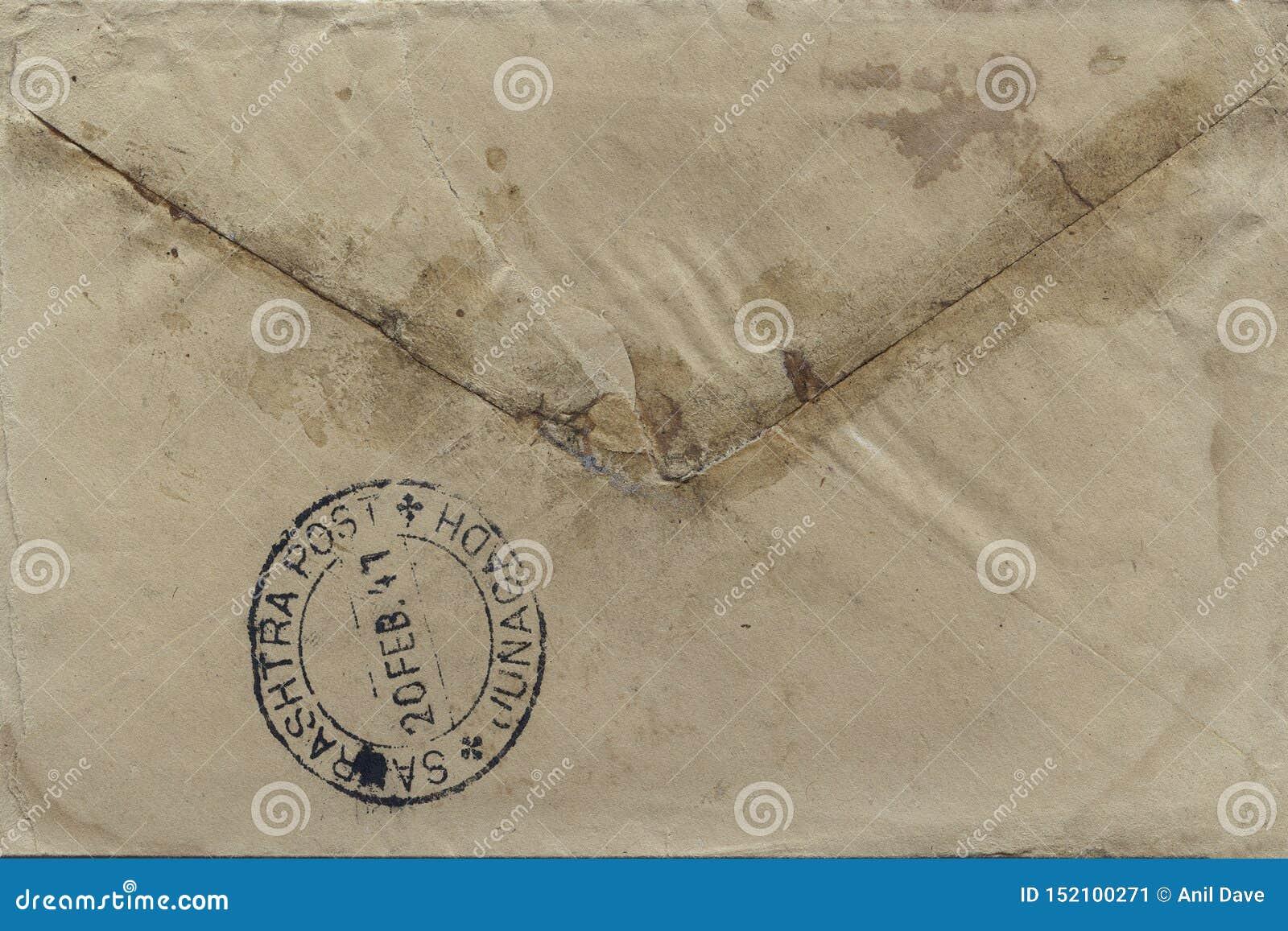 De uitstekende Britse manier van de raj 20-februari-1947 Indische prentbriefkaar van mededeling voor openbare SAURASHTRA POSTjuna
