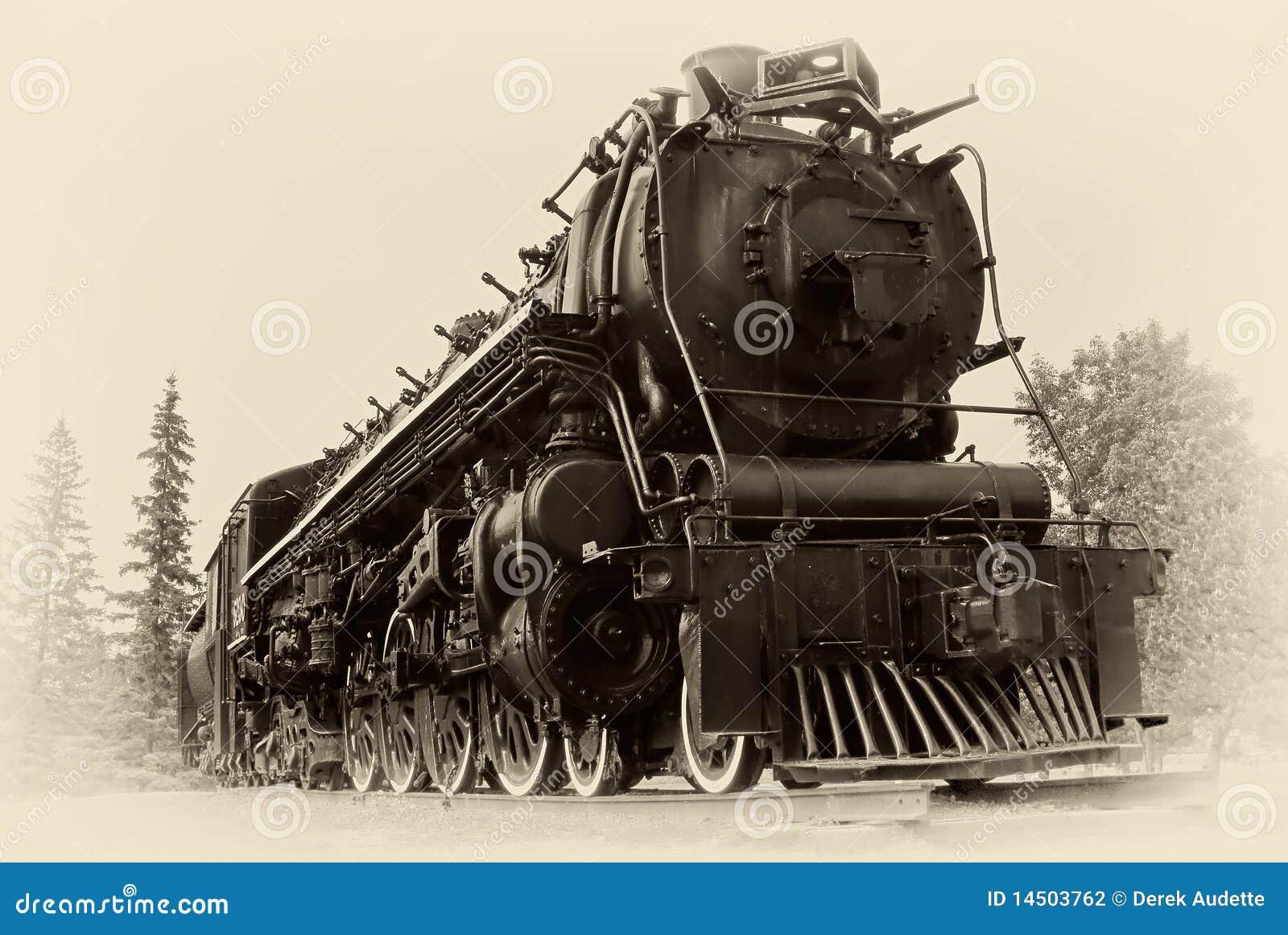 De uitstekende Foto van de Stijl van de Trein van de Stoom