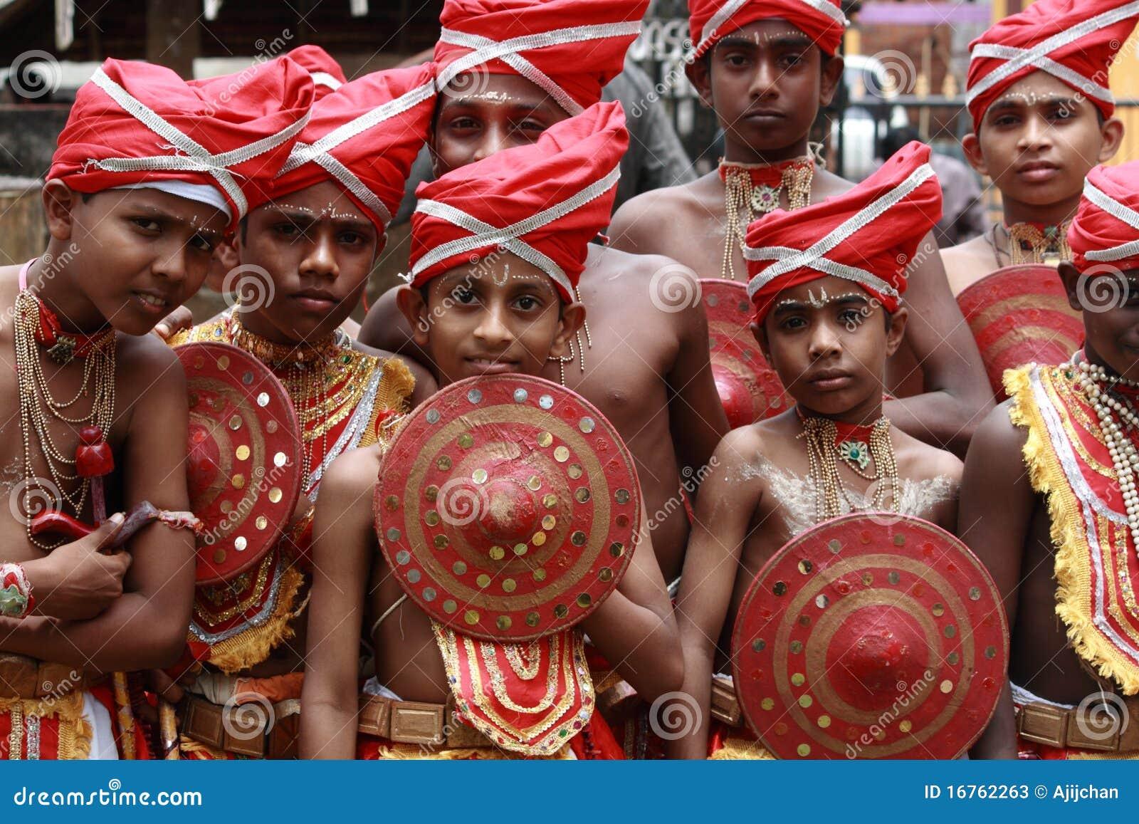 De uitvoerders van Velakali