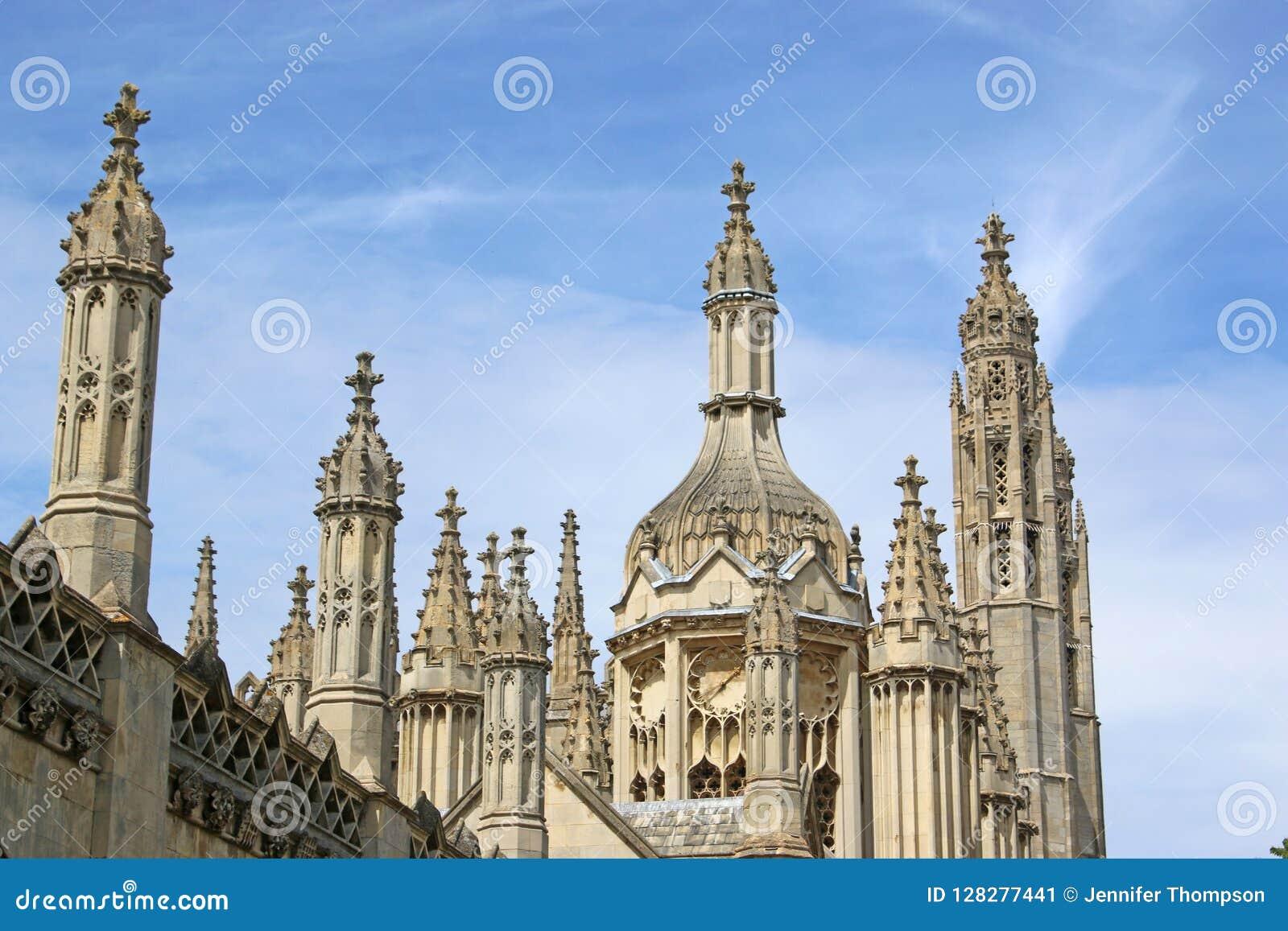 De Universiteit Cambridge van koningen