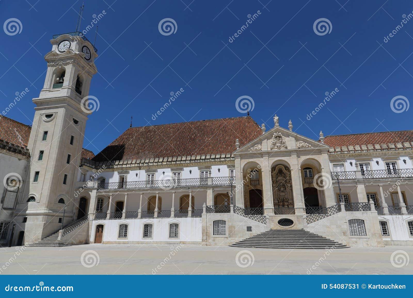 De Universiteit van Coimbra