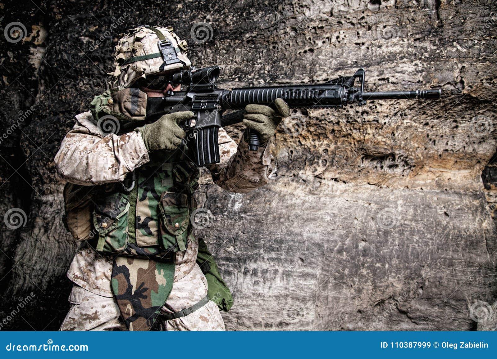 De V.S. Marine Soldier