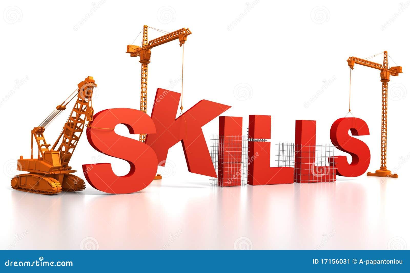 De Vaardigheden van de bouw