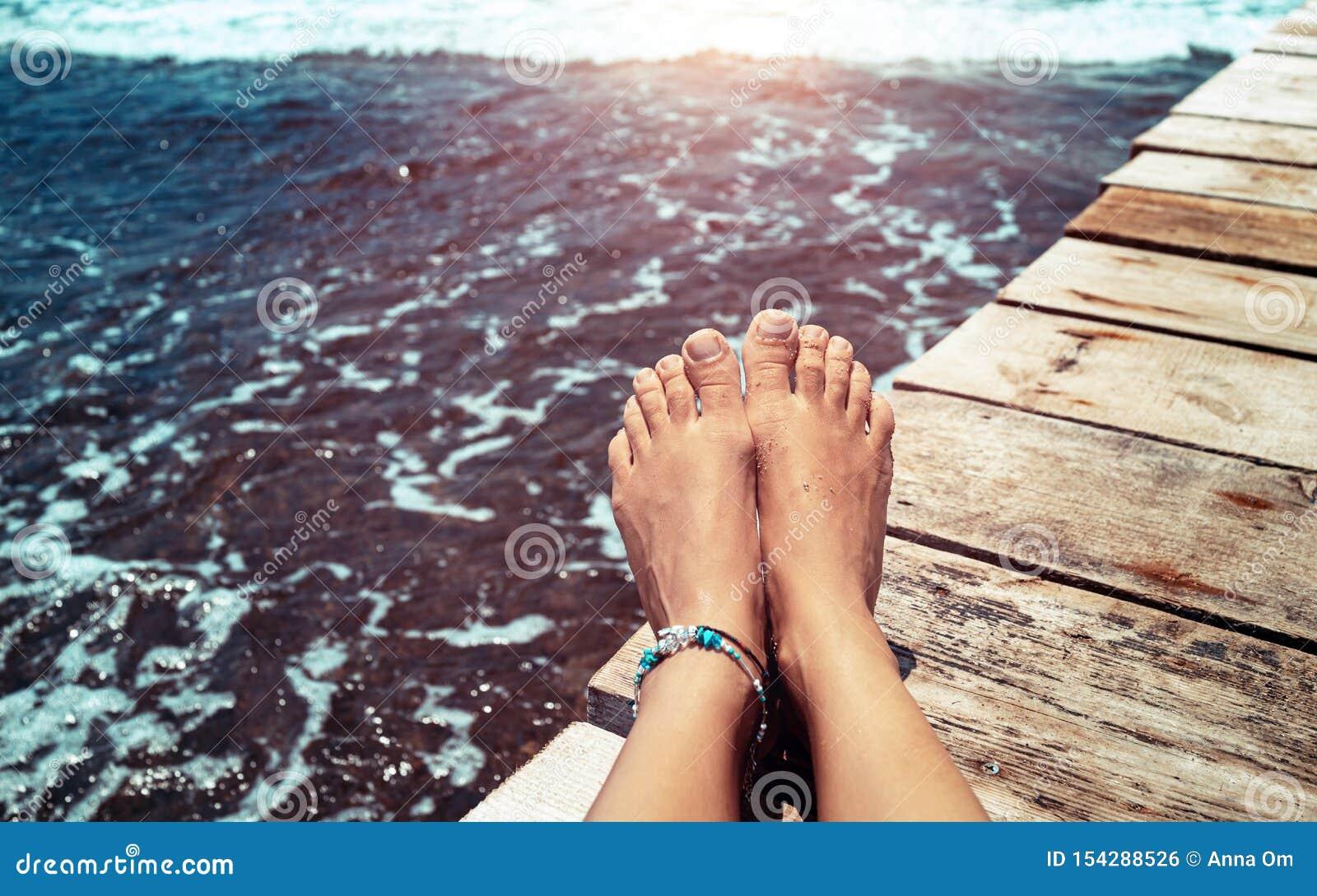 De vakantieconcept van de zomer