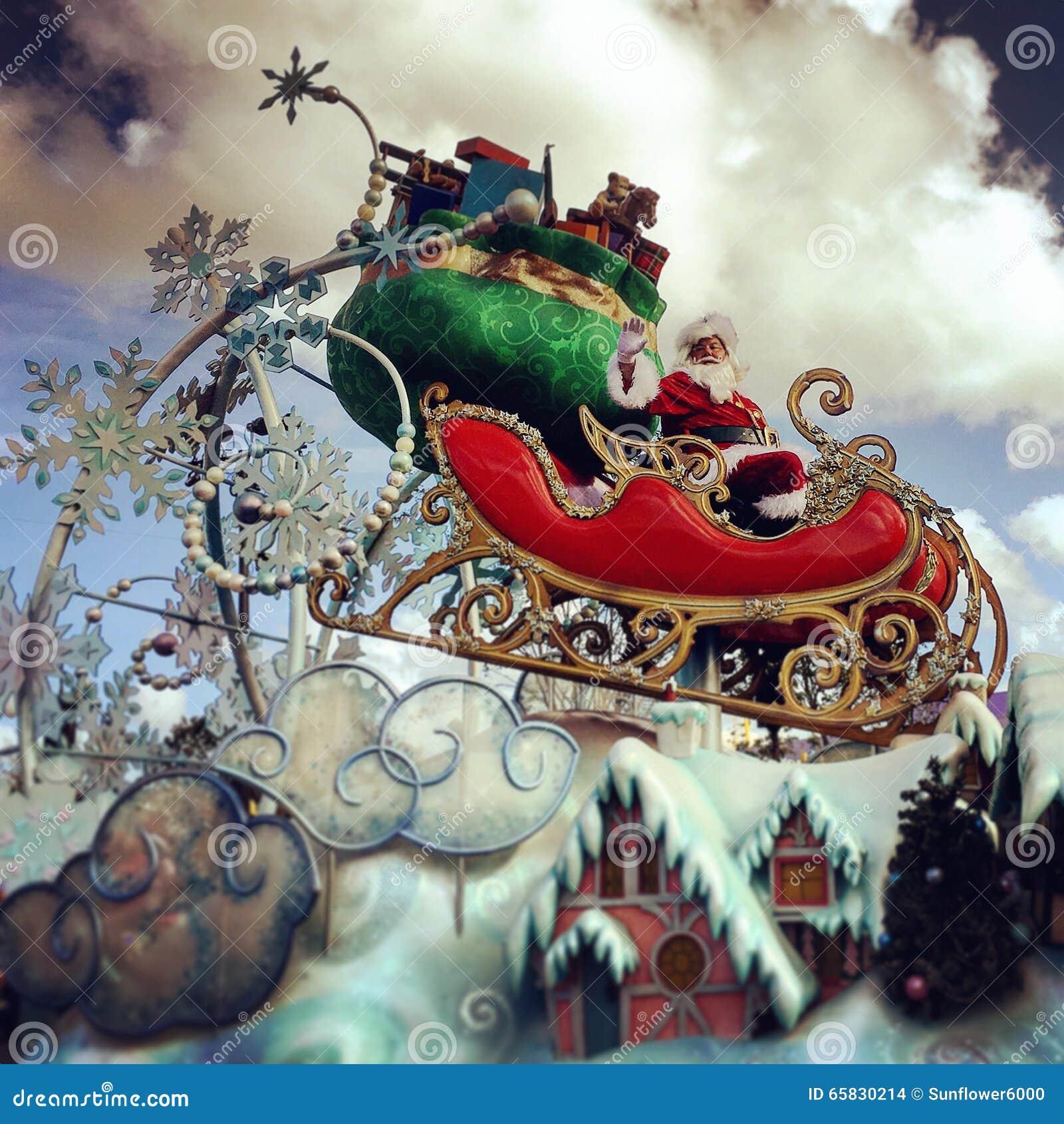 De Vakantieparade van Chistmas van Walt Disney World Mickey zeer Vrolijke