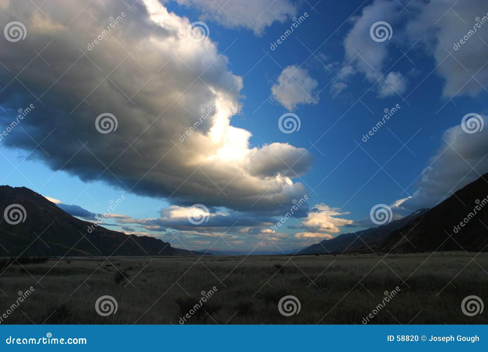 De Vallei van de gletsjer