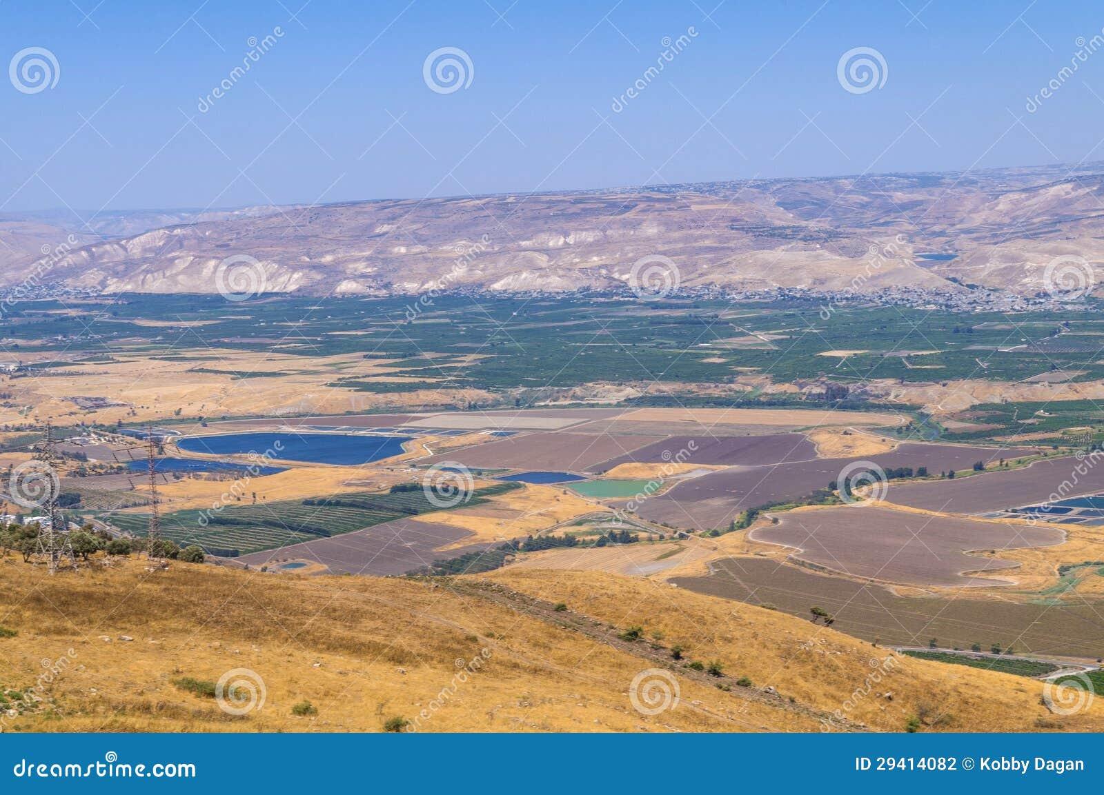 De vallei van Jordanië