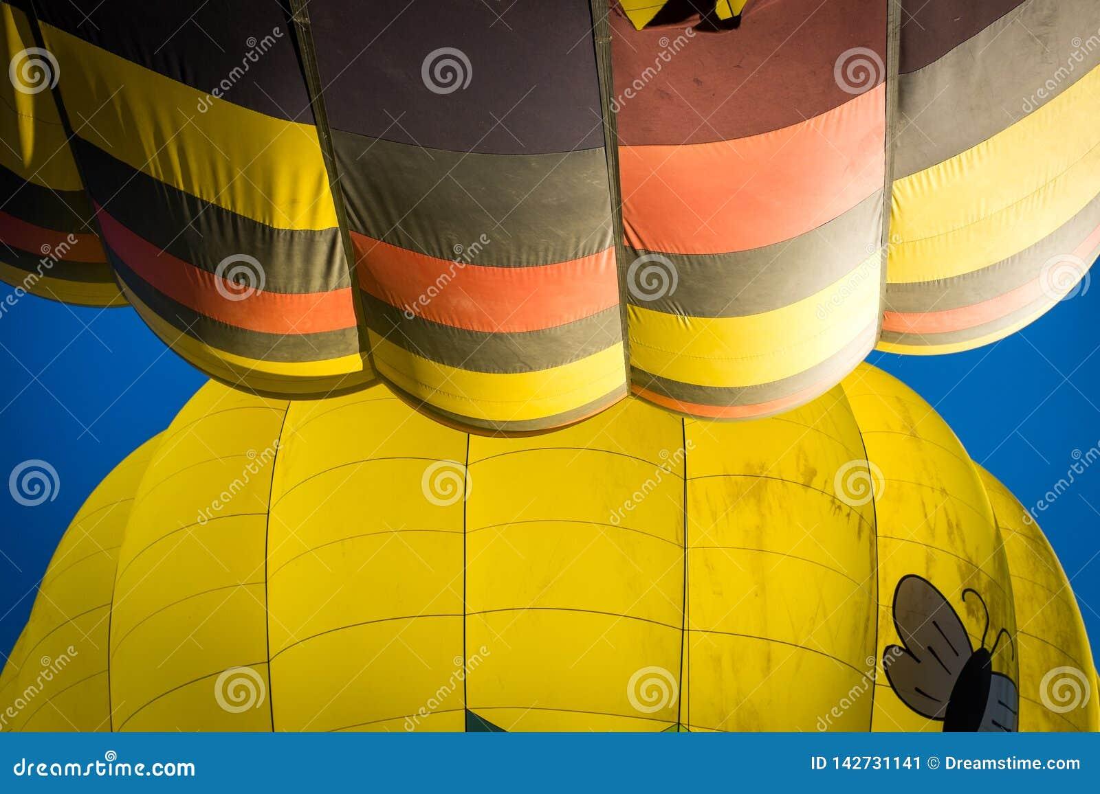 De Vallei van Napa van hete luchtballons