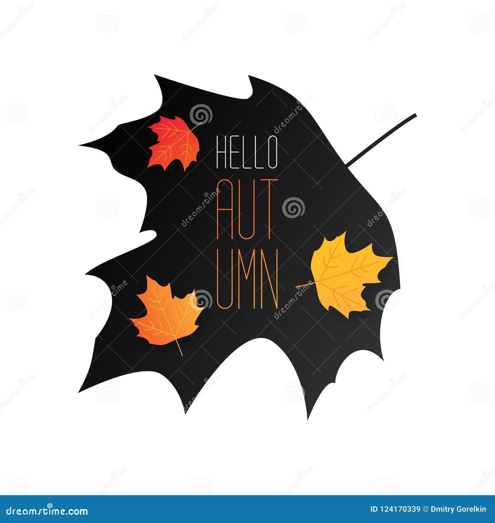 De van de de achtergrond herfstverkoop lay-out verfraait met bladeren voor het winkelen