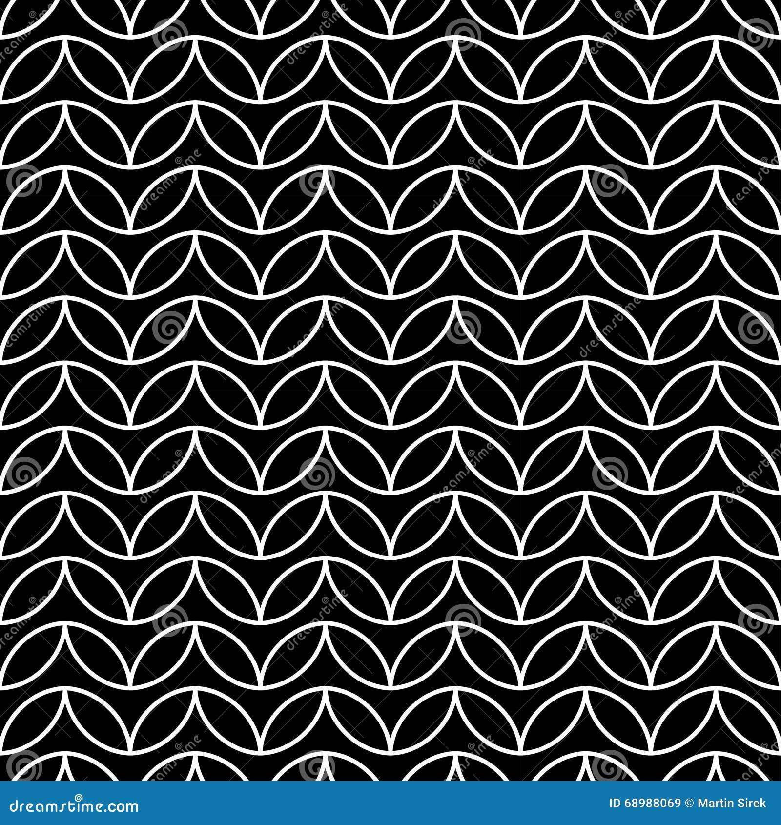 De vector moderne naadloze chevron van het meetkundepatroon, zwart-witte samenvatting
