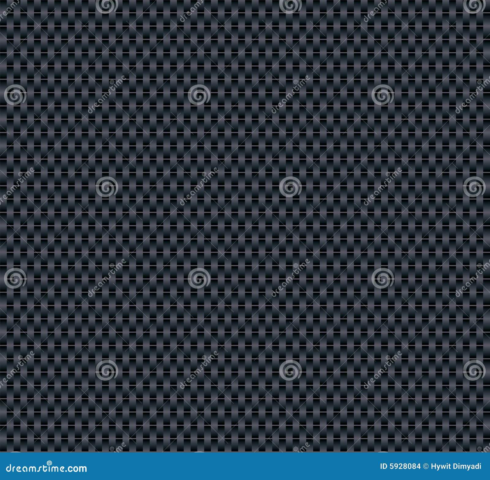 De vector Textuur van de Vezel van de Koolstof