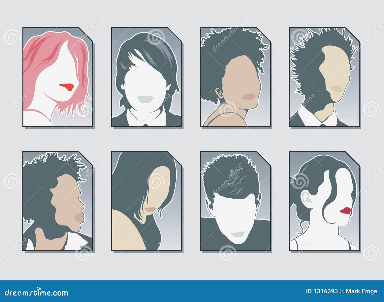 De Vector van de Pictogrammen van de gebruiker