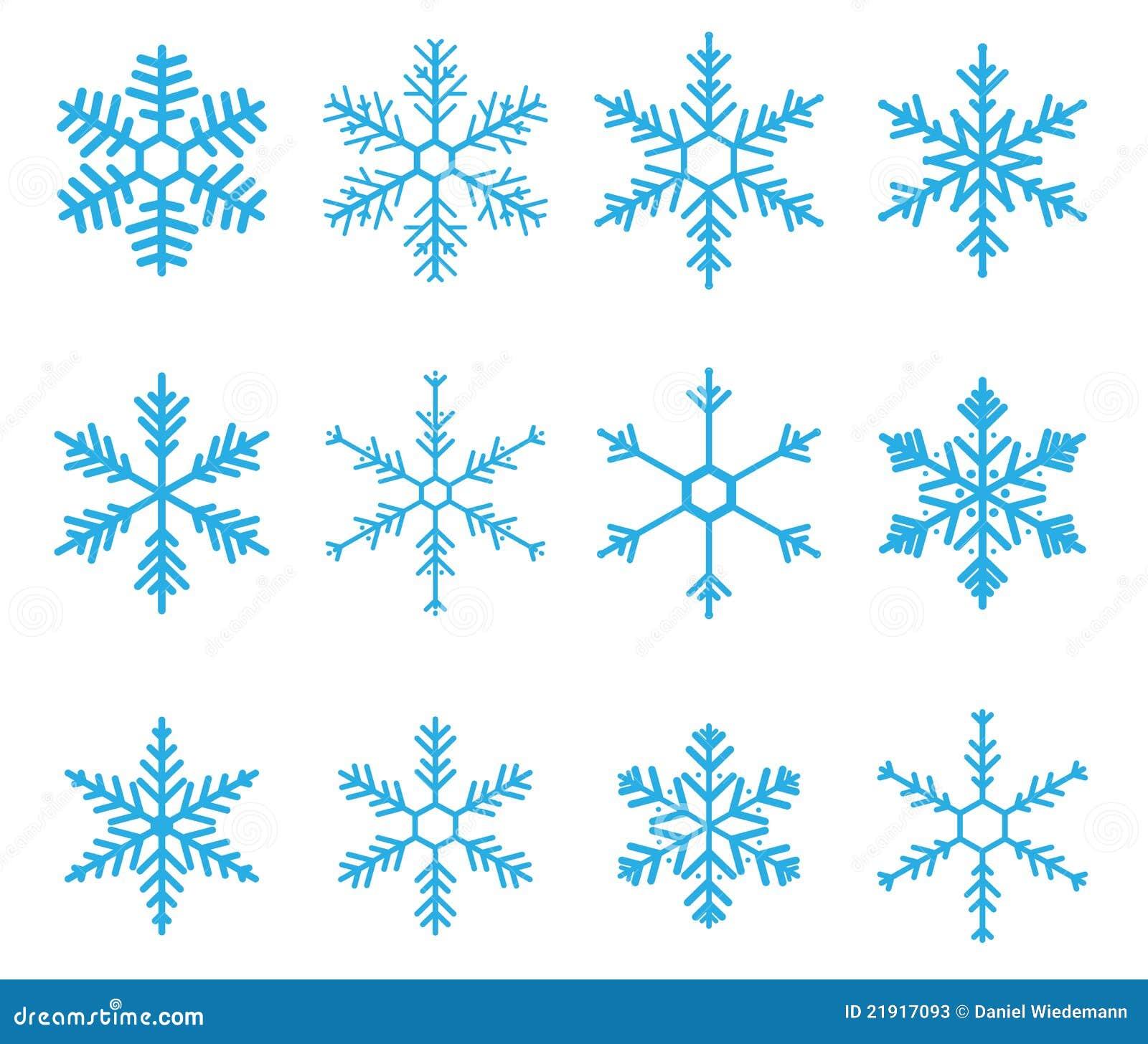 De Vector van de sneeuwvlok