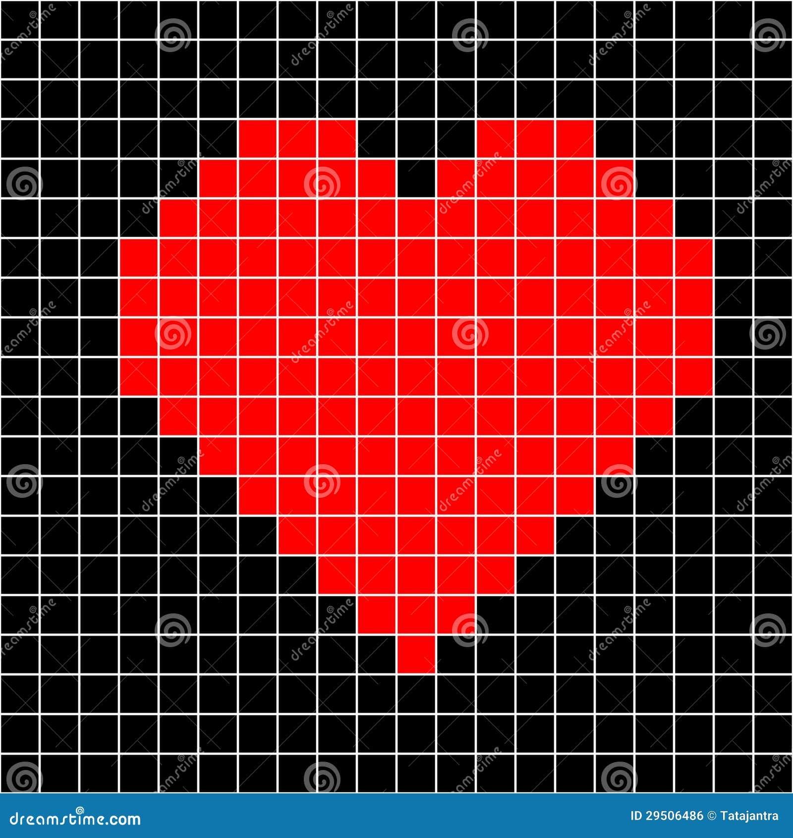 De vector van het het hartpatroon van de dwars-steek