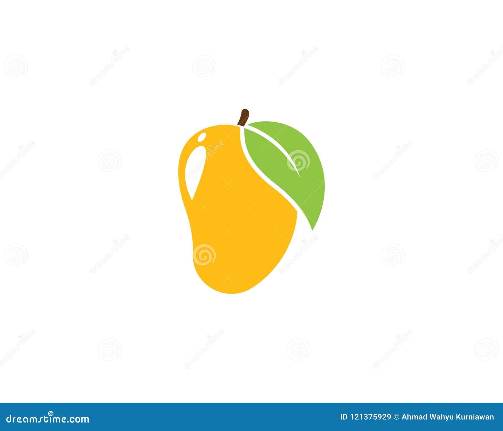 De vector van het mangoembleem
