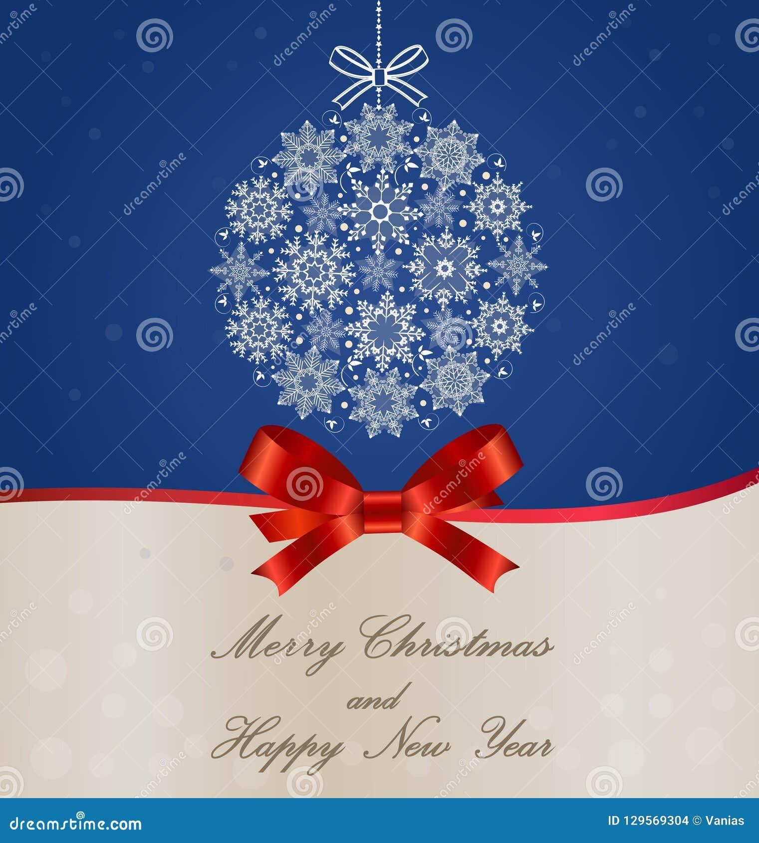 De vector van de Kerstmisbal - de decoratieschoonheid van de kunstvoorraad