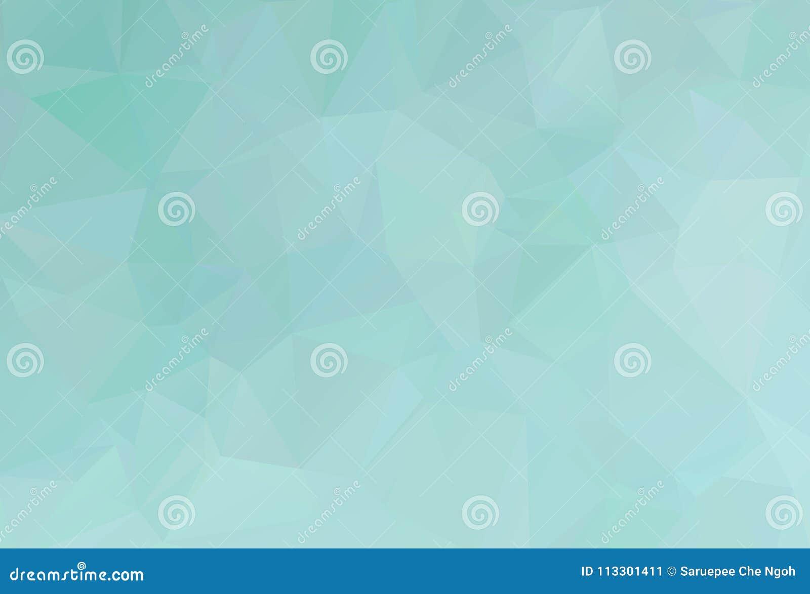 De vectorachtergrond van de Veelhoek Abstracte moderne Veelhoekige Geometrische Driehoek Blauwe Geometrische Driehoeksachtergrond