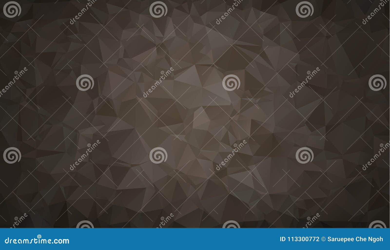 De vectorachtergrond van de Veelhoek Abstracte moderne Veelhoekige Geometrische Driehoek Zwarte Geometrische Driehoeksachtergrond