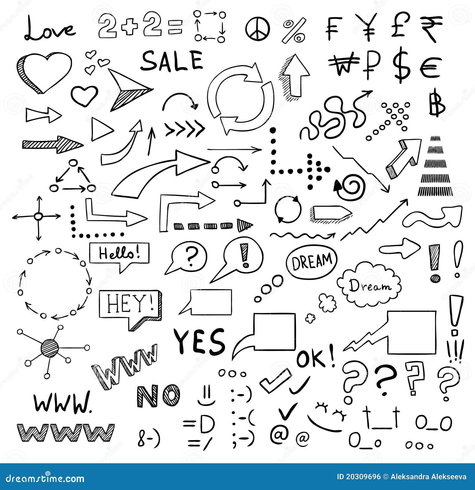... -vrije Stock Afbeelding: De vectorreeks van tekens en van symbolen: nl.dreamstime.com/royalty-vrije-stock-afbeelding-de-vectorreeks-van...