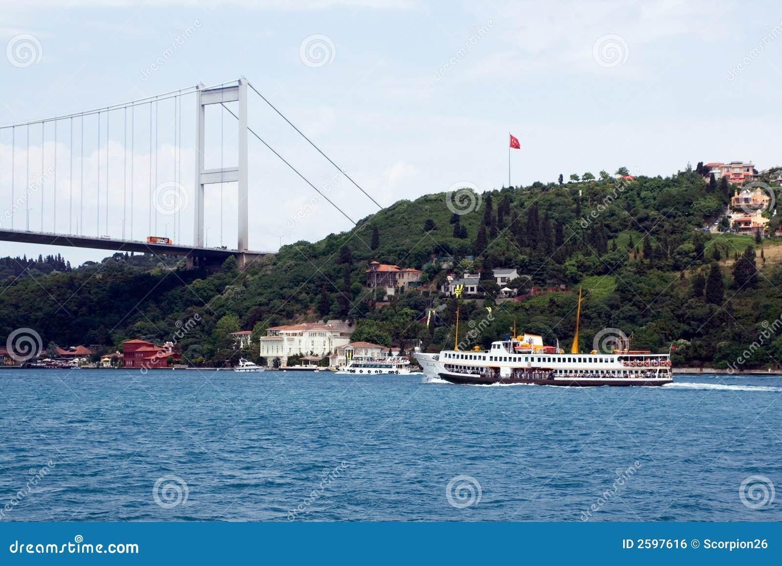 De Veerboot van Bosphorus