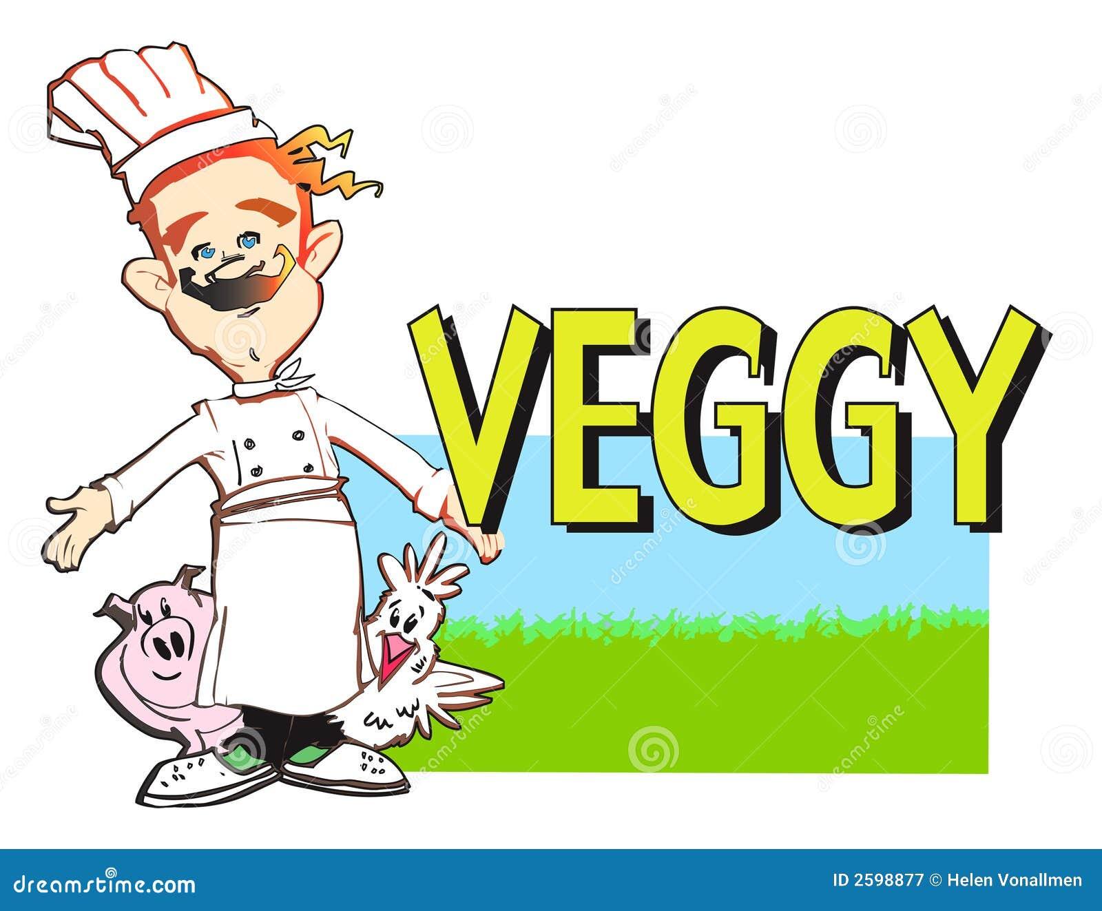 De veganistkok van de REEKS van de BAAN