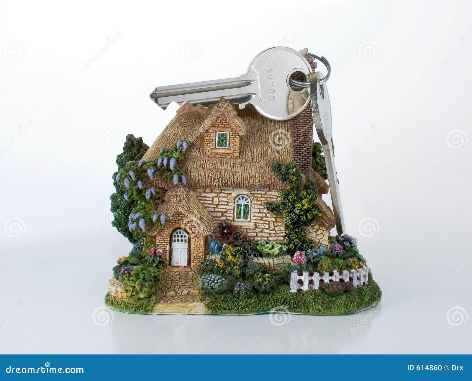 De veiligheidssleutels van het huis