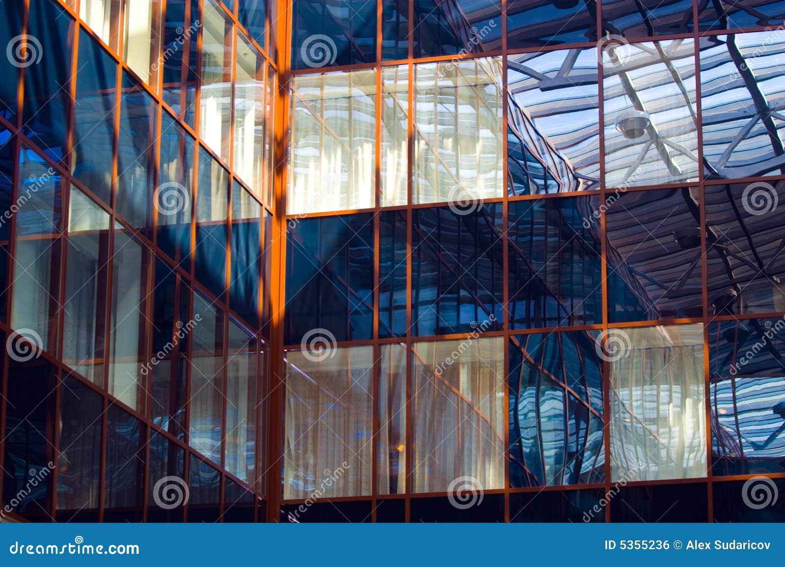 De vensters van het dakraam