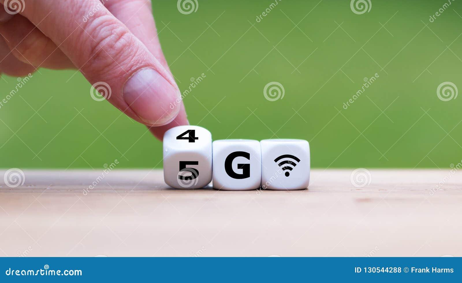 De verandering van 4G in 5G