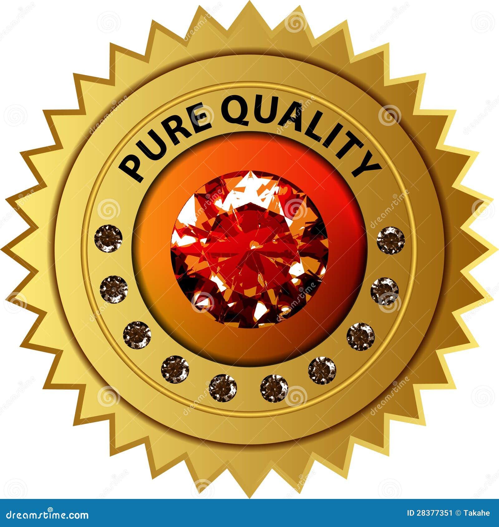 De verbinding van de kwaliteit met diamanten