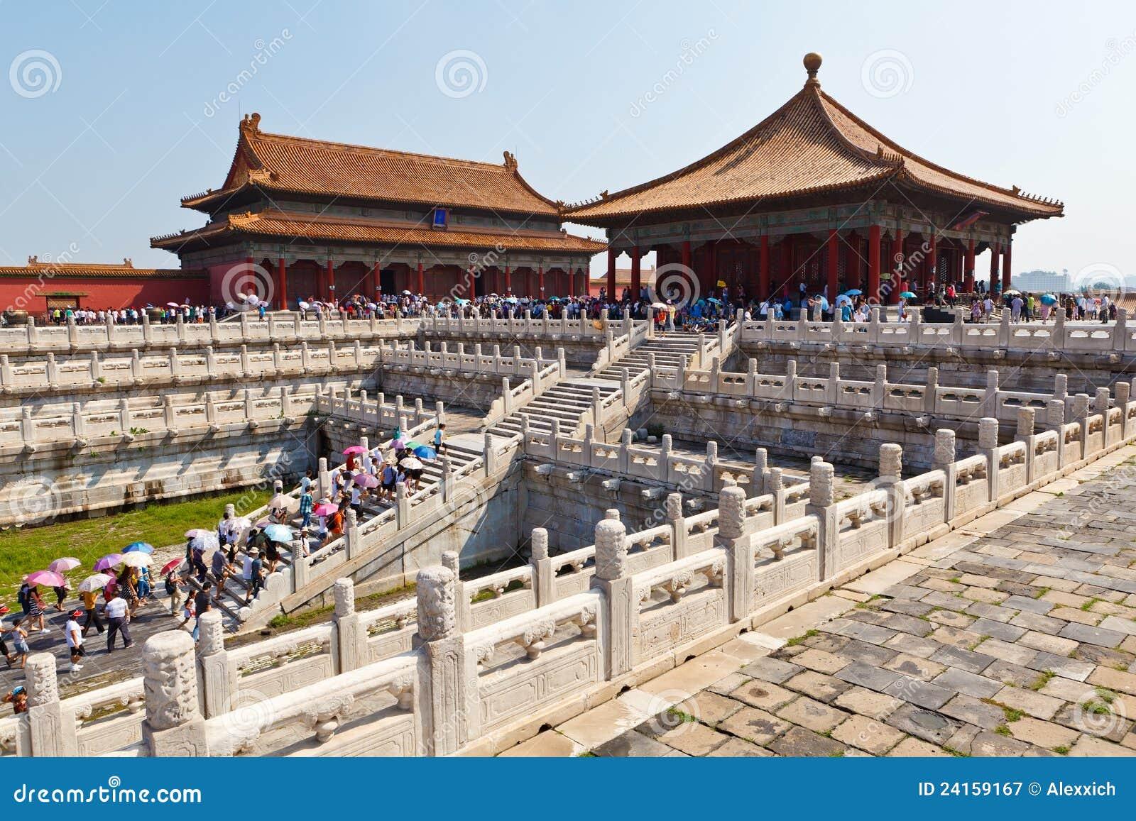 De Verboden Stad, China Redactionele Fotografie   Afbeelding  24159167