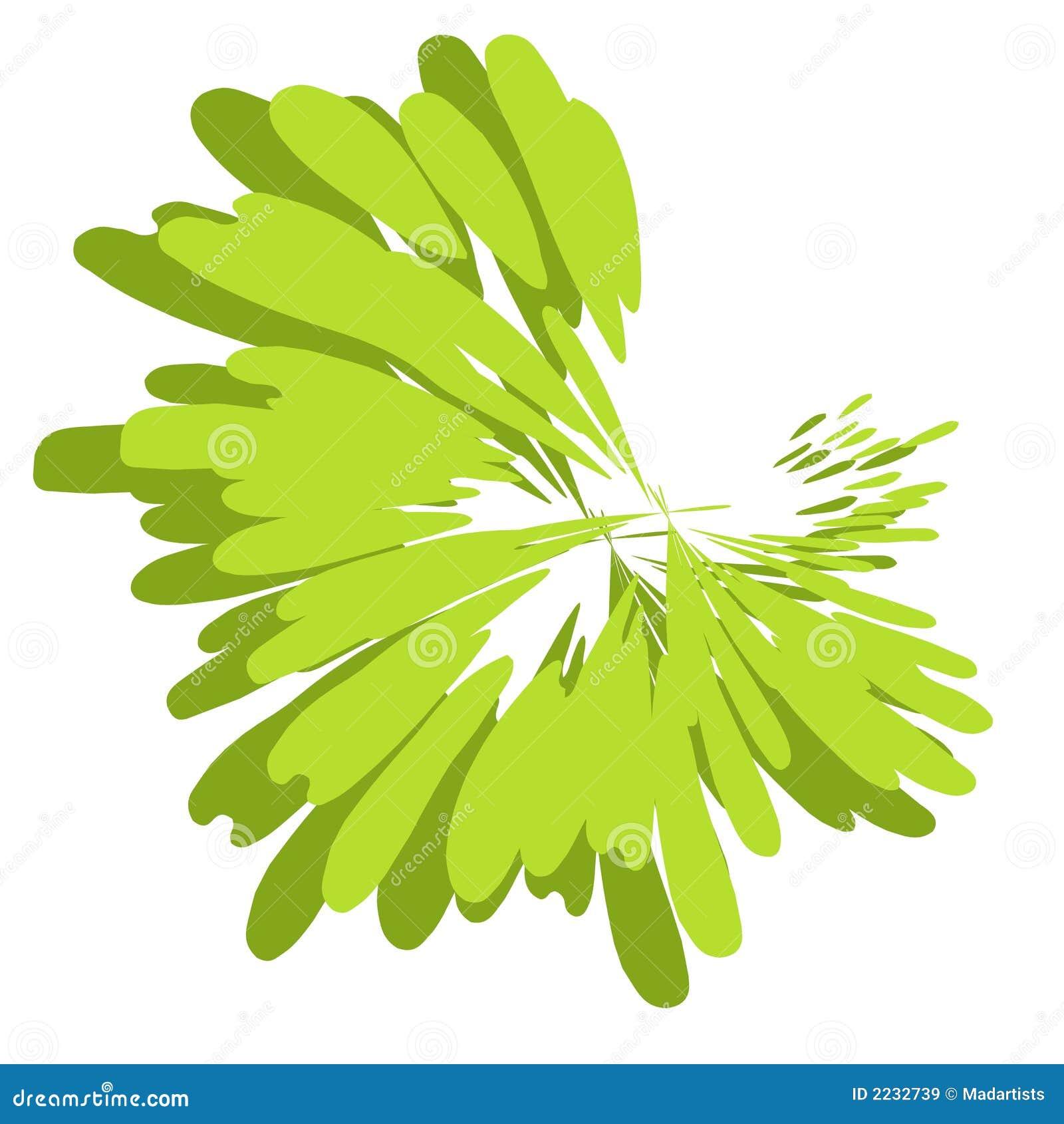 De verf ploetert Groene Textuur
