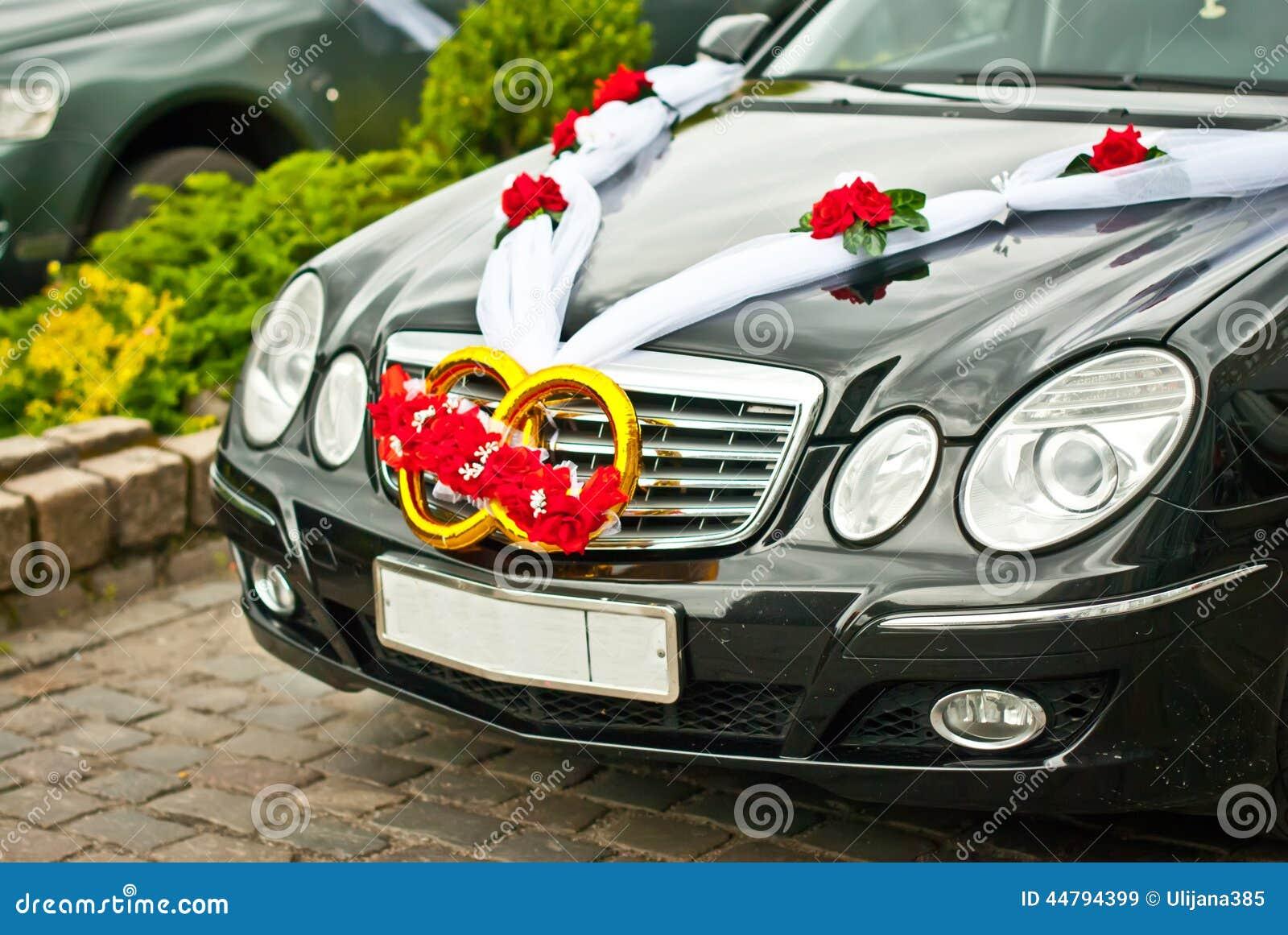 De verfraaide Auto van het Huwelijk
