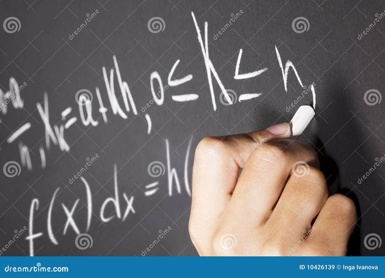 De vergelijkingen van Math