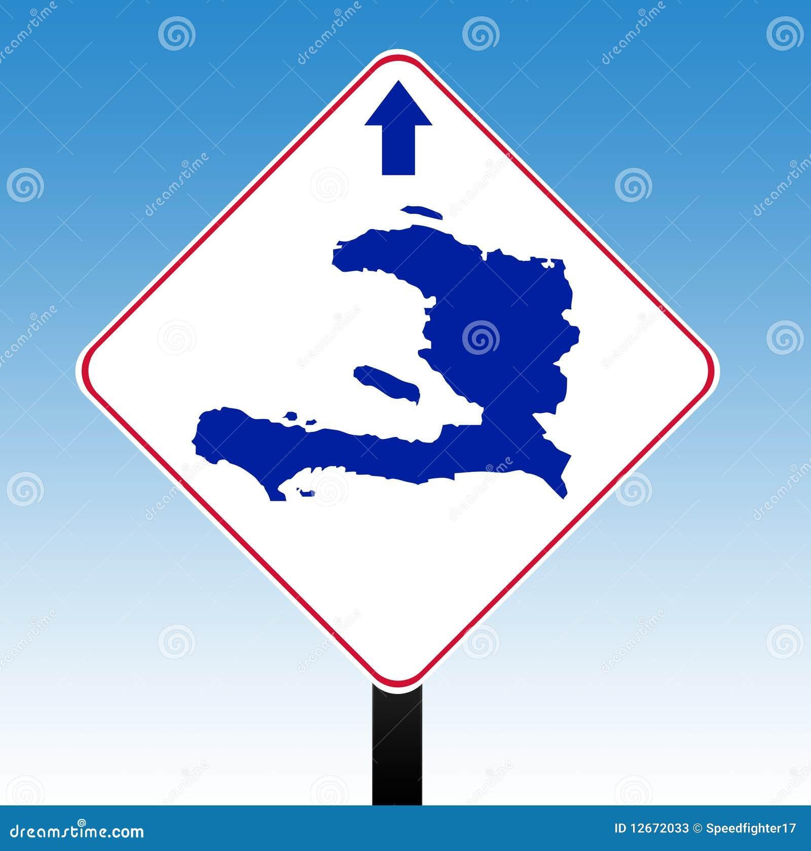 De verkeersteken van Haïti