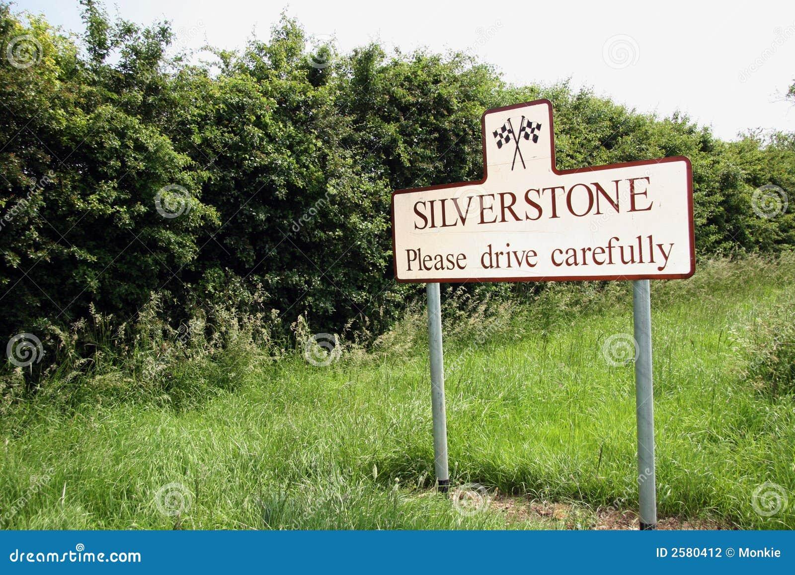 De verkeersteken van Silverstone
